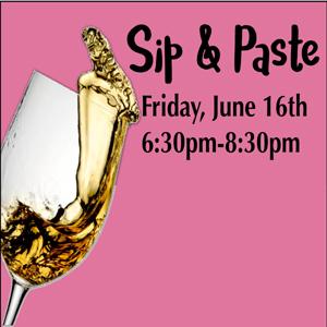 Senior Center of West Seattle Sip & Paste, June 2017