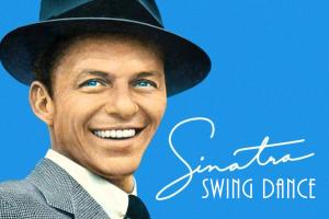 Sinatra Swing Dance Logo